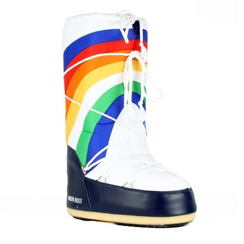 moon boots rainbow tecnica