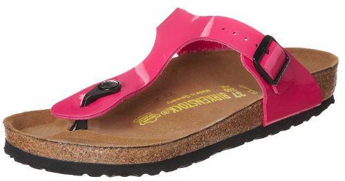 roze birkenstock slipper gizeh