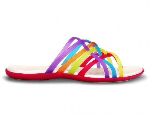 crocs huarache slipper